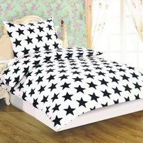 Obliečky Dallas Hviezda microsatén, 140 x 200 cm, 70 x 90 cm
