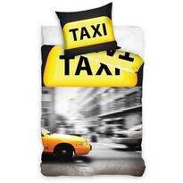 Bavlněné povlečení Taxi, 140 x 200 cm, 70 x 90 cm