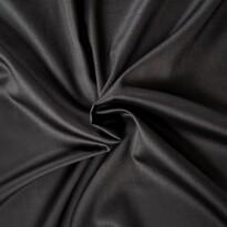 Saténové prestieradlo čierna