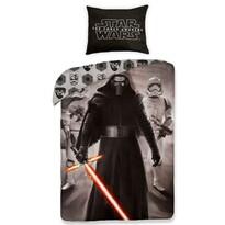 Detské bavlnené obliečky Star Wars The Force Awakens black, 140 x 200 cm, 70 x 90 cm