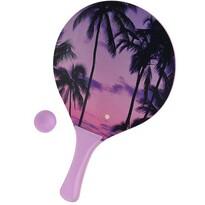 Set na plážový tenis Summer, fialová
