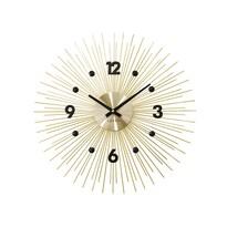 Zegar ścienny Lavvu Crystal Lines LCT1141 złoty, śr. 49 cm