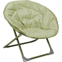 Okrągłe krzesło khaki, 82 cm