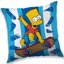 Polštářek The Simpsons Bart skater, 40 x 40 cm