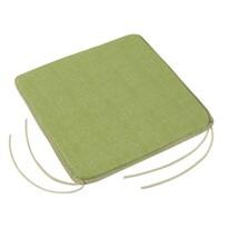 Sedák Adela hladký UNI zelená, 40 x 40 cm