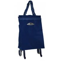 Gimi Brava nákupná taška na kolieskach modrá