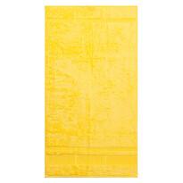 Osuška Bamboo žltá, 70 x 140 cm