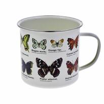 Zománcozott bögre - Pillangók