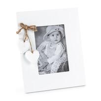 Ramka do zdjęć Serduszka, biały