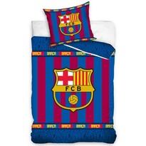Bavlnené obliečky FC Barcelona Superior, 140 x 200 cm, 70 x 80 cm