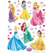 Samolepicí dekorace Princezny, 30 x 30 cm