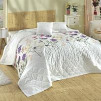Cuvertură Nergiz lila, 220 x 240 cm, 2x 40 x 40 cm