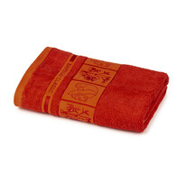 4Home Prosop Bamboo Premium roşu, 50 x 100 cm