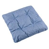 Sedák Adela UNI svetlo modrá, 40 x 40 cm