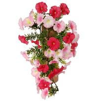 Floare artificială Petunie roz, 40 cm
