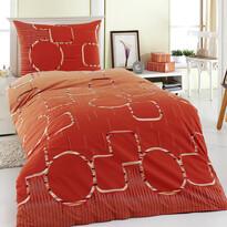 Bavlnené obliečky Myra oranžová