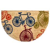 Kokosová rohožka půlkruh Kola, 40 x 60 cm
