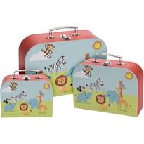 Sada detských kufrov Safari, 3 ks