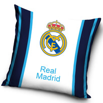 FC Real Madrid Blue Stripes kispárna, 40 x 40 cm
