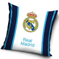 Vankúšik FC Real Madrid Blue Stripes, 40 x 40 cm