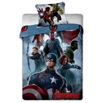 Dětské bavlněné povlečení Avengers 2015, 140 x 200 cm, 70 x 90 cm