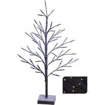 Świecące drzewko LED Pino, brązowy