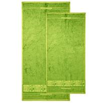 4Home komplet ręczników Bamboo Premium zielony, 70 x 140 cm, 50 x 100 cm