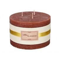 Lumânare decorativă Elegance Cafea şi scorţişoară,diam. 13 cm
