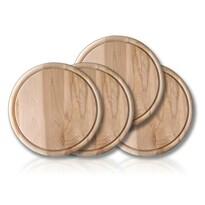 Banquet 4-częsciowy zestaw drewnianych desek do krojenia