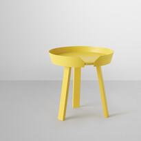 Konferenčný stolík Around malý, žltý