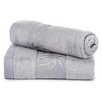 Komplet ręczników bambus Hanoi jasnoszary