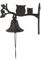Kovový zvonek nad dveře Sovy