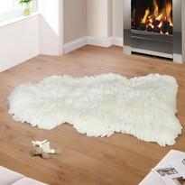 Skóra owcza, dekoracyjna biały, 90 x 105 cm
