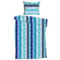 Krepové obliečky Bruno Aqua, 140 x 200 cm, 70 x 90 cm