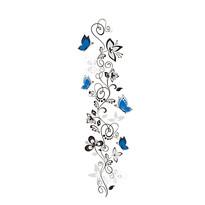 Samolepiaca dekorácia vášeň motýľov