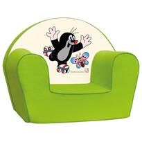 Bino Kisvakond fotel, zöld