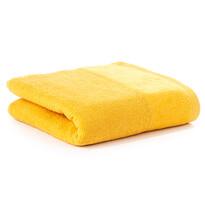 Ręcznik kapielowy Velour żółty, 70 x 140 cm