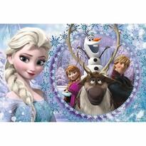 Trefl Puzzle Ľadové kráľovstvo Priatelia, 60 dielikov