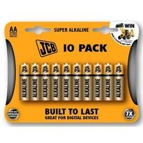 JCB SUPER alkaliczna bateria LR06, blister 10 szt.