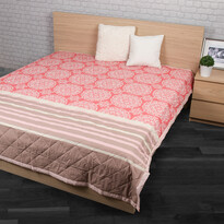 Narzuta na łóżko Morbido łososiowy