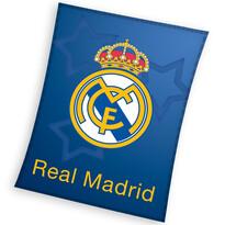 Detská fleecová deka Real Madrid Blue Stars, 110 x 140 cm