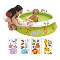 Dětský bazén s obtisky, 122 x 35 cm