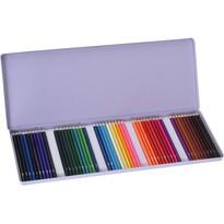 Farebné pastelky, sada 50 ks