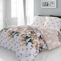 Lenjerie de pat o persoană Laura, din satin