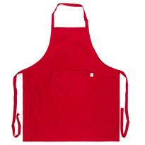 Fartuch kuchenny czerwony, 70 x 80 cm