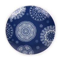 Dezertný tanier Blue Laces 20 cm, modrý