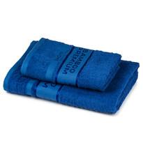 4Home Komplet Bamboo Premium ręczników niebieski, 70 x 140 cm, 50 x 100 cm