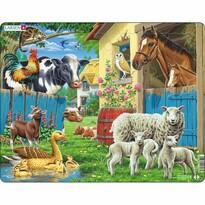 Larsen Puzzle Zwierzęta na farmie, 25 części