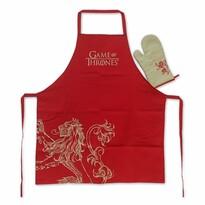 Set bucătărie Game of Thrones, 2 piese, roșu