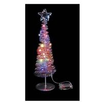 Vianočný stromček 20 LED, farebný
